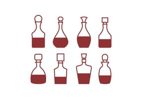 Pack de Iconos Decanter