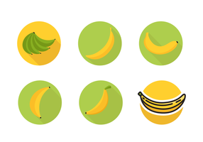 Plantain Icons kostenloser Vector Pack