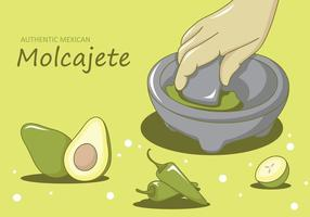 Molcajete Illustration Vektor