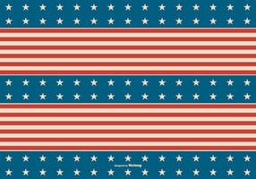 Retro American Patriotic Background vector