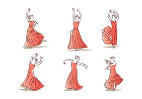 Castanets Dance Free Vector