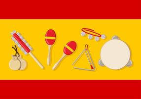 Spain Music Instrument vector