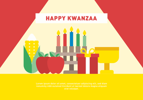 Glad Kwanzaa Vector