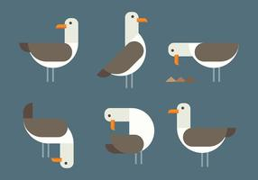 Albatross Vector Icons