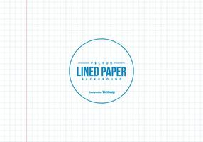 Vierkante Lined Notebook Paper Background vector