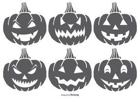 Abóbora assustador Halloween Pumpkin vetor
