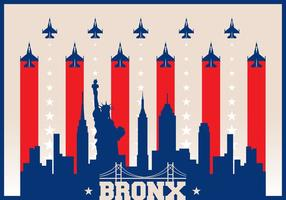 Bronx Skyline vector