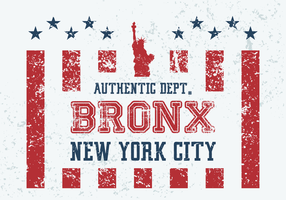 Vintage Bronx Vector