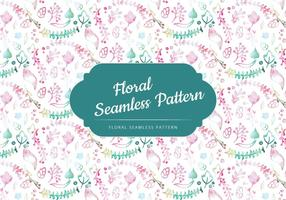 Vector Outline Floral Pattern