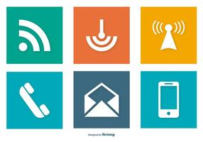 Communication Related Icon Collection