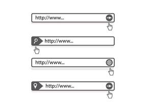 Address-bar-search-engine-vector