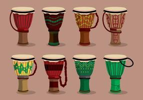Ensemble de variation Djembe