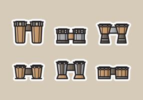 pacchetto di bongo vettoriali gratis