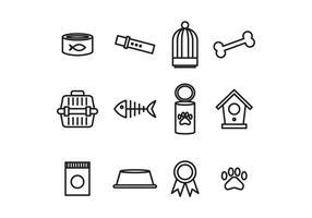 Haustier Versorgungsvektoren