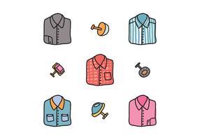 Camisas e abotoaduras