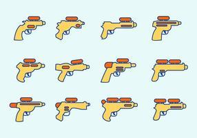 Pistola de agua Vector