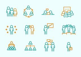 Referral Business Icons