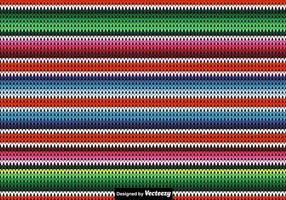 Vector Knitted Poncho Background
