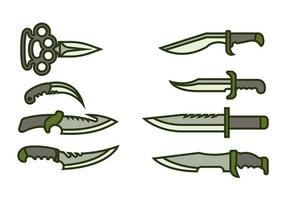 Bayonet Pictogram Vector