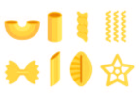 Set Of Macaroni Icons