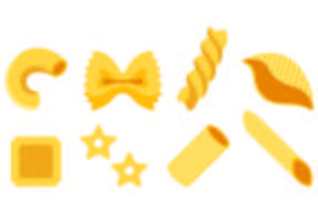 Set Macaroni Pictogrammen vector