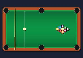 9 Ball Vector Illustration