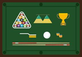 Free Billiard Vector Collection