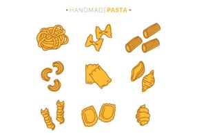 Brown And Yellow Pasta