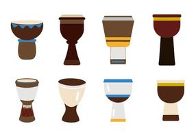 Free African Djembe Vector