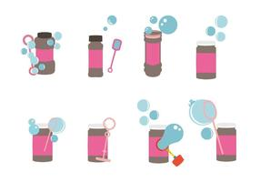Free Bubble Blower Icons Vektor
