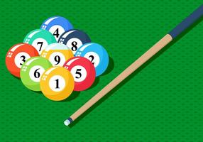 Billiards Background Vector