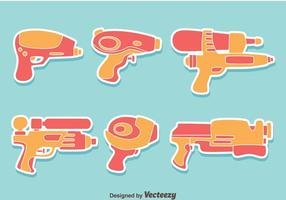 Watergun Collection Vector