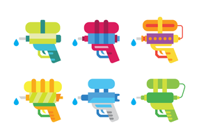 Watergun Icon Vector