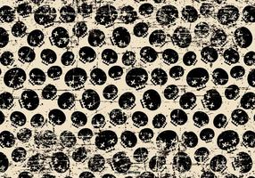 Grunge Halloween Skulls Background