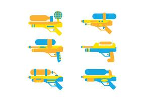 Free Cute Watergun Vector