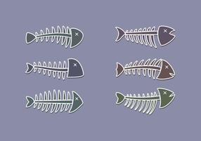 Livre vetor Fishbone excepcional