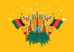 Kwanzaa Background Vector