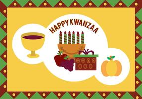 Kwanzaa vektor illustration