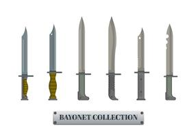 Bayonet Vector Collection