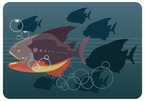 Piranha Illustratie Vector
