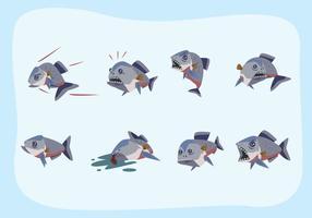vetor piranha