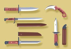 Paquete de vectores de bayoneta