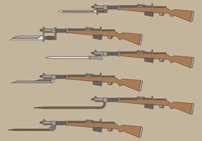Bayonet Vector Pictogrammen
