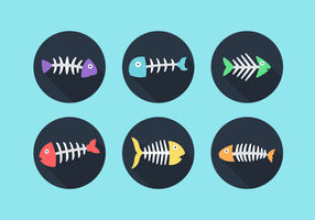 Fishbone Free Vector Pack