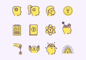 Psychologist Vector Icons