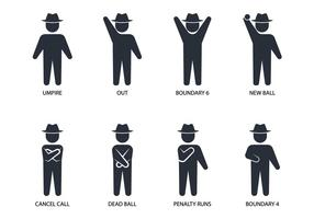 Umpire Hand Signal