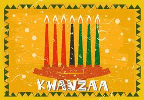 Sieben Kwanzaa Kerze