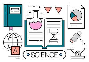 Gratis Vector Pictogrammen Over Wetenschap
