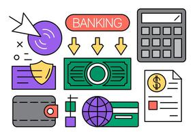 Linear-finance-and-banking-vector-elements