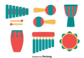 Percusion Instrument Vector